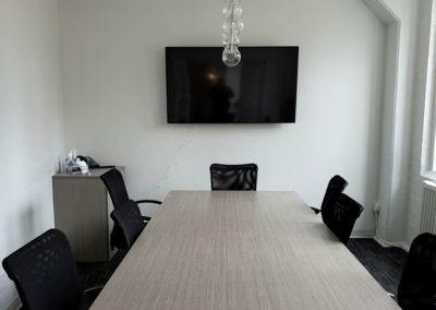 TV Wall Mounting. ThreeD Capital, Conference Room. Toronto, Ontario -HTAV.