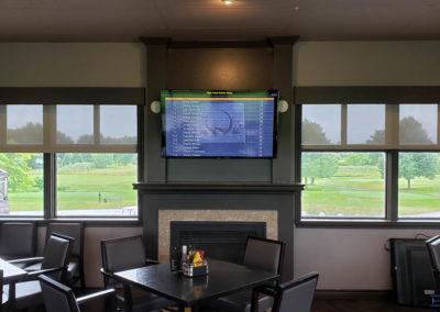 TV Wall Mounting. West Haven Golf Club, Club House. London, Ontario -HTAV.