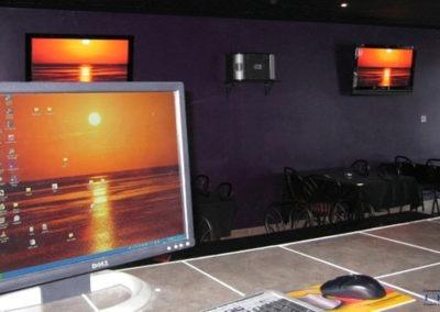 Wall Mounted TV Installations, Concealed Wiring, Karaoke System Setup. Forever Karaoke Bar. London Ontario -HTAV.